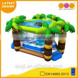 2015 AOQI latest design commercial use tropical inflatable swimming pool for adults for sale