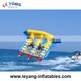 Inflatable flying fish /water ski tube / inflatable floating flyfish for beach
