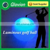 New light up golf ball glovion glow in the dark custom glof ball led golf ball