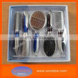 Gift hair brush set/promotion brush set/logo printed combs