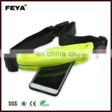 Waterproof Lycra Running Waist Bag, Outdoor Fitness Elastic Sports Running Belt, Elastic Spandex