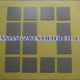 Ti Sintered Porous Filter Sheet