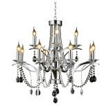 Modern Luxury Living Room Hotel Crystal Decoration Chandelier NC1244p-12
