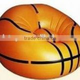 Factory direct Inflatable basketball shape sofa Inflatable air sofa/chair