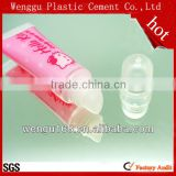 16mm 19mm diameter lip gloss tube 20ml plastic tube cosmetic packaging tube lipgloss tbe cosmetic lip balm tube