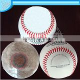 Cuesoul Baseball, Professional baseball , 100% white wool baseball,Training baseball