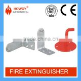 2016 hanging fire extinguisher wall bracket for fire fighting equipment with ISO approval
