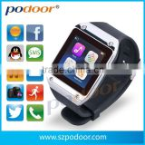 2014 Podoor android bluetooth watch smart watch PW305 for unisex ,fashionable wrist watch for smart mobile phone