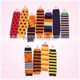 Unisex cute Halloween leg warmer baby sock infant crochet legging wamers