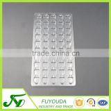 High quality clear anti-static plastic electronic blister tray
