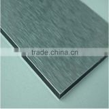 silver brush acp 3mm 4mm aluminum plastic composite panel decorative interior wall paneling