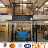 vertical Warehouse cargo lift elevator roller guide/linear guide rail