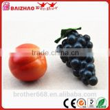 Soft Plastic Artificial Fruits Fake Grapes Decor