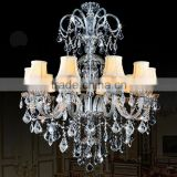Bohemia Lead Crystal Glass Chandeliers Hanging Pendant Lamp Light Lighting For Wedding Decoration CZ3002/10