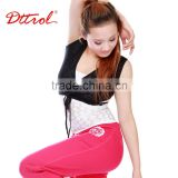 D005066 High quality dance wrap with cross strap gym sports women vest