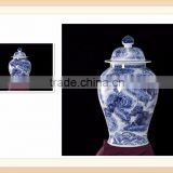Blue and white chinese antiques collectibles 60CM ginger jar