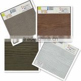 waterproof wood grain fiber cement board