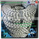 10.5mm good quality diamond wire saw blade for stone quarrying ,stone block cutting tools for marble cutting
