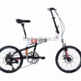 "20"" 7 spd Aluminium Alloy, disc brakes with suspension, and folden bike, FOLDING BICYCLE"