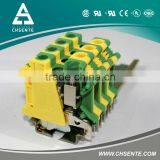 JUT1-10PE Universal screw brass earth terminal block
