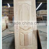 ash wood veneer HDF door skin from China/oak veneer door skin/natural wood cabinet veneer skin