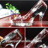 Factory directly wholesale price Fantastic European design crystal shoes for wedding gift