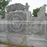 Stone terrace railing designs marble baluster hand carved stone sculpture from Vietnam