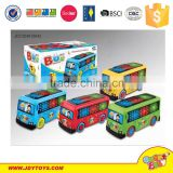BO cartoon toys with music smal battery operated toy car