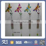 Colorful metal butterfly wind chime for sale