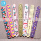 Fashion cheap price colorful crystal personalized wholesale nail files