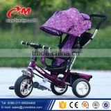 Tricycle for kids Thailand,Indonesia importers / Cheap children metal tricycle parts / smart baby twins tricycle