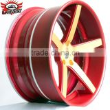 3 piece forged wheel with latest design TUV approved                                                                         Quality Choice