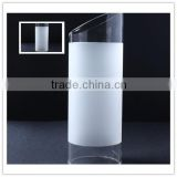 china factory oblique shape customize modern glass lamp shade & cover for table lamp