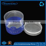 China wholesale new design Gift Paper Cylinder Box/Round Box/Tube Box with PVC window for packaging