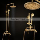 new design classic antique bronze bath in-wall shower set faucet mixer LT10132AAB