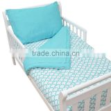 Professional baby products 3 pieces cotton bedding set                                                                         Quality Choice