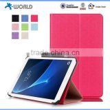 Folding Standing Leather Case 7 inch Tablet Case Flip Leather Case for Samsung Galaxy Tab A 7.0
