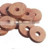Red Cedar Wood Natural Moth Repellent Rings Aromatic Air Freshen Scented Wooden Rings Hangers