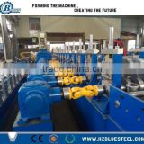 Gear Box Transmission Structure W Waves Forming Machine, Steel Highway Road Guardrail Roll Forming Machine