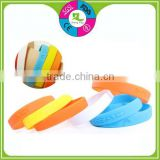 Custom Design Silicone Wrist bands And Colorful Wrist Bands And Rubber Bracelets Rubber Wristbands of 1 INCH heated wrist band