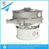 rotary Weiliang grading sieve for dry powder with viewing port on the cover