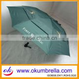 "Arc 42""*8Ribs Automatic Open 2 Folding Umbrella OKF170"
