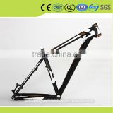 frosted matte painting aluminium alloy7005 super light bicycle frame for mountain bike hot sale in Japan