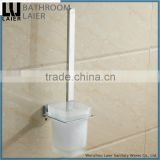 20750 modern design zinc alloy walll mounted name of toilet accessories chrome plate toilet brush holder