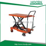 Foot Pump Hydraulic Manual PT800A-HC scissor car lift table