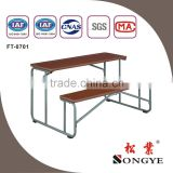 SONGYE Good quality cheap school furniture modern double school desk and bench,Africa hot design