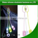 lovely silicone led bag light for promotion