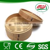 dim sum small bamboo steamer basket