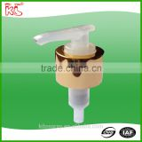Clear Quality assurance colourful custom plastic cosmetic cream dispenser pump
