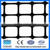 Earthwork product biaxial geogrid for road construction